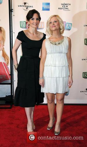 Tina Fey and Amy Poehler  2008 Tribeca Film Festival Opening Night - World Premiere of 'Baby Mama' at Ziegfeld...