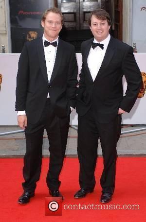 David Mitchell and Robert Webb 2007 British Academy Television Awards - Red Carpet Arrivals held at the London Palladium London,...