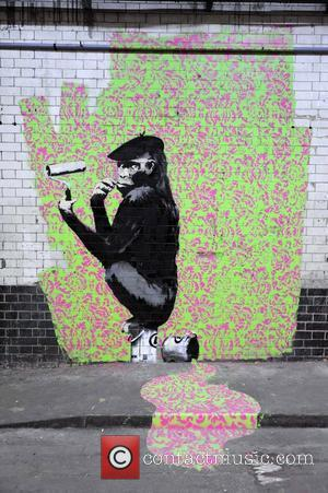 Banksy Gifts Primary School With A Mural Of Their Own