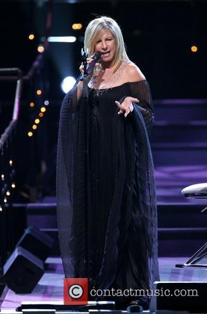 Barbra Streisand performing live at the O2 Arena London, England - 18.07.07
