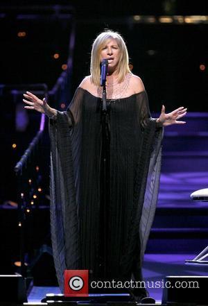 Streisand Celebrates After First German Concert