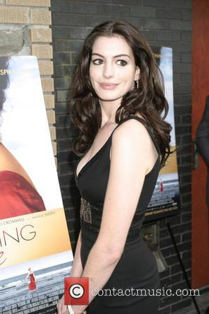 Hathaway Finds English Accent Exhausting