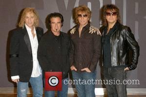 Bon Jovi Photocall  David Bryan, Tico Torres, Jon Bon Jovi and Richie Sambora  at the O² Arena in...
