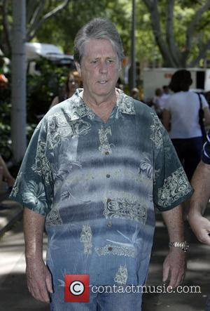 Brian Wilson of the Beach Boys holds a press conference prior to his live concert, being held on 5 January,...