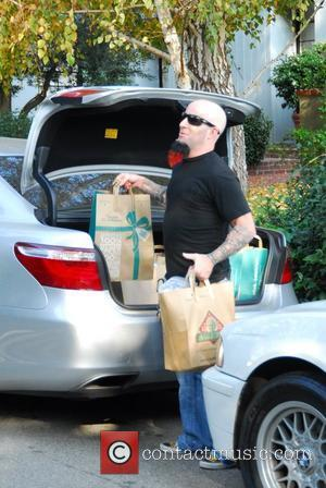 Scott Ian of Anthrax shopping at Bristol Farms food store on Thanksgiving Day Beverly Hills, California - 22.11.07