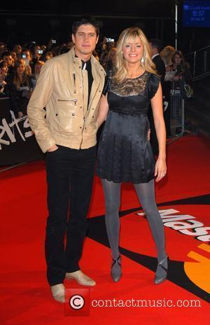 Vernon Kay, Tess Daly The Brit Awards 2008 Earls Court , London, England.
