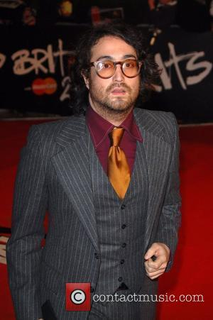 Sean Lennon The Brit Awards 2008 Earls Court , London, England.