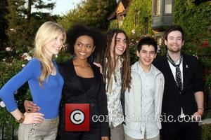 (l-r) Brooke White, Syesha Mercado, Jason Castro, David Archuleta and David Cook Champagne Launch of BritWeek 2008, held at the...