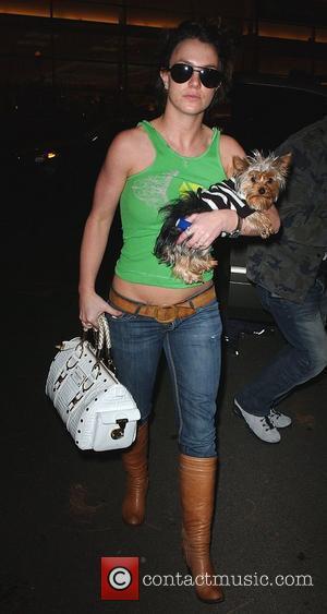 Spears Has Pink Eye - Just Like Federline