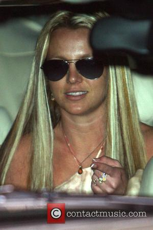 'Upbeat' Spears Attends Dance Rehearsal