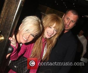 Sarah Harding, Nicola Roberts and Nicola's boyfriend At her Kimberly's sister Amy Walsh's, 21st birthday party, held at the Burlington...