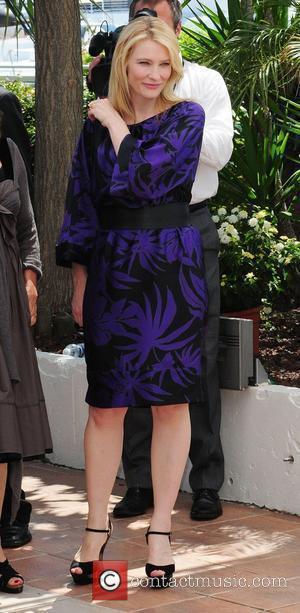 Blanchett Attending Summit Days After Son's Birth