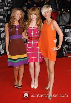 Kimberley Walsh, Nicola Roberts and Sarah Harding of Girls Aloud  Capital Awards held at the Riverbank Park Plaza London,...