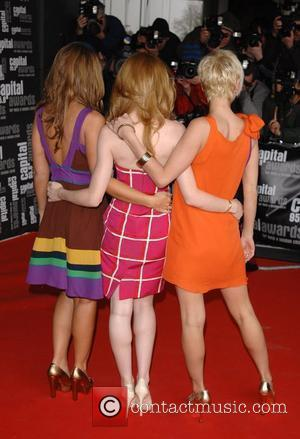 Kimberley Walsh, Nicola Roberts and Sarah Harding of Girls Aloud Capital Awards held at the Riverbank Park Plaza London, England...