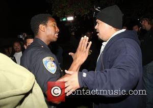 Police, Nick Cannon and Mariah Carey