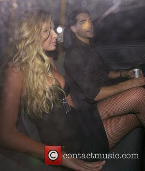 Nadine Coyle and Jesse Metcalfe Leaving G.A.Y held at the London Astoria London, England - 02.12.07