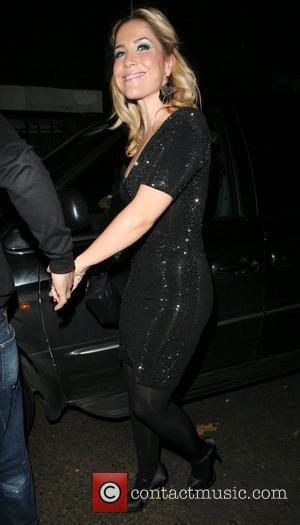 Nadine Coyle and Jesse Metcalfe Arriving at G.A.Y held at the London Astoria London, England - 02.12.07