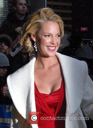 Katherine Heigl outside Ed Sullivan Theatre for the 'Late Show With David Letterman' New York City, USA - 16.01.08