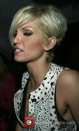 Sarah Harding leaving Mahiki nightclub at 4am rather worse for wear London, England - 16.03.08