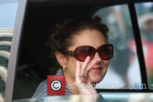 Susan Sarandon Celebrities visit the film set for 'Sex And The City: The Movie' while filming on the streets of...