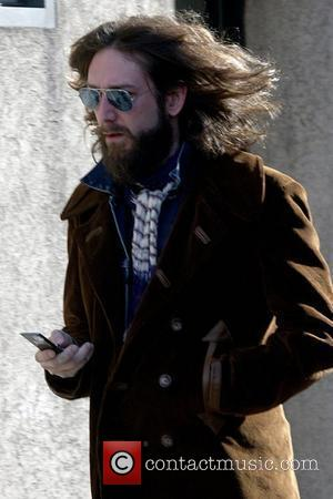 Chris Robinson of The Black Crowes out and about in Soho New York City, USA - 06.03.08