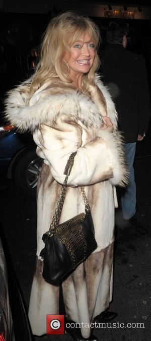 Goldie Hawn leaving Cipriani restaurant London, England - 08.03.08