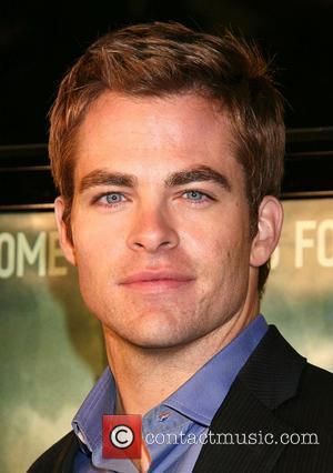 Chris Pine Cloverfield Premiere held at Paramount...