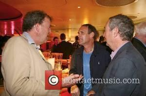Jeremy Clarkson, AA Gill and Nick Mason