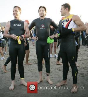 David Duchovny takes part in the Nautica Malibu Triathlon Malibu, California - 16.09.07
