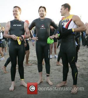 David Duchovny takes part in the Nautica Malibu Triathlon Malibu, California - 16.09.07