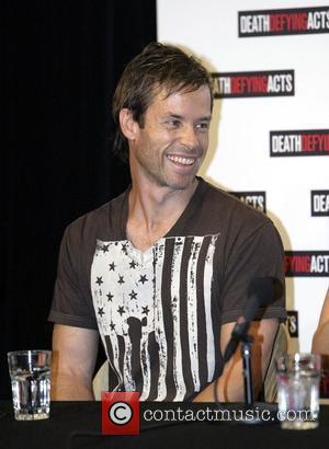 Guy Pearce Press conference for the film 'Death Defying Acts' at Sydney Opera House ahead of the Australian premiere Sydney,...
