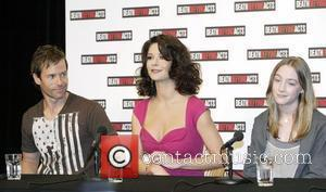 Guy Pearce, Catherine Zeta-Jones and Saoirse Ronan Press conference for the film 'Death Defying Acts' at Sydney Opera House ahead...