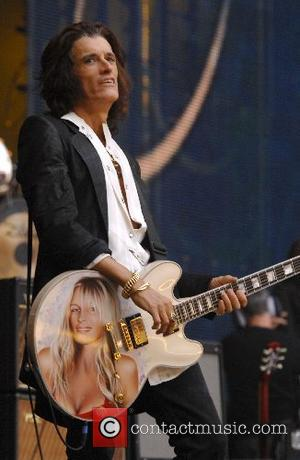 Joe Perry of Aerosmith The Concert for Diana at Wembley Stadium  London, England - 01.07.07