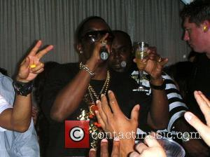 Sean Combs aka P Diddy partying at Pure night club inside Ceaser's Palace Las Vegas, Nevada - 07.09.07