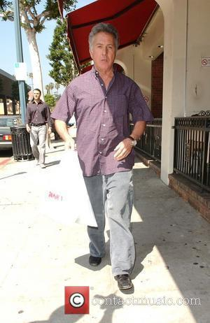 Dustin Hoffman out and about in Beverly Hills. He stopped for lunch at a deli before doing some shopping at...