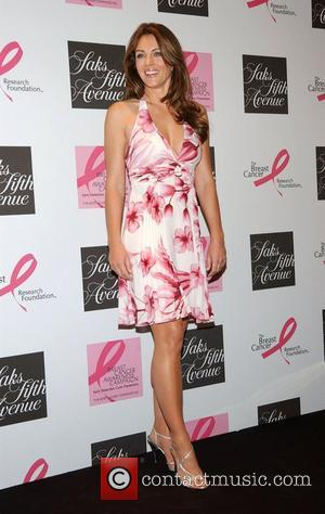 Elizabeth Hurley at Saks Fifth Avenue to Raise Awareness for Breast Cancer. All funds go to the Breast Cancer Research...