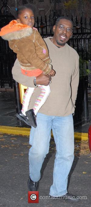 Ernie Hudson with his daughter leaving their midtown Hotel New York City, USA - 05.12.07