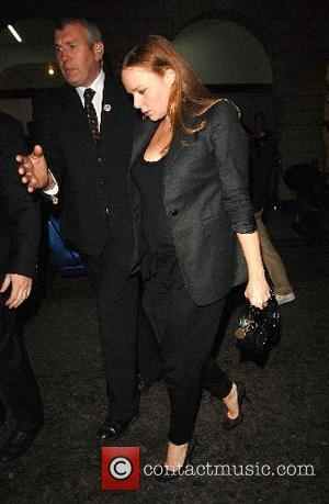 Pregnant Stella McCartney Opening of the Established & Sons Gallery - Arrivals London, England - 11.10.07
