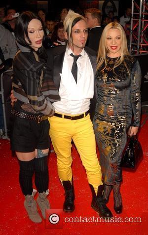 Pete Burns, Michael Simpson and Guest Swarovski Fashion Rocks at the Royal Albert Hall - Arrivals London, England - 18.10.07