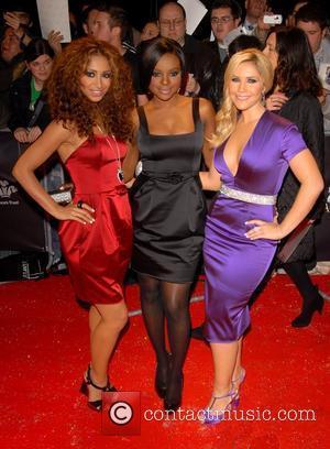 Amelle Berrabah, Keisha Buchanan and Heidi Range from the Sugababes Swarovski Fashion Rocks at the Royal Albert Hall - Arrivals...