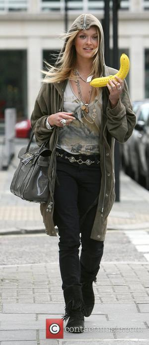 Fearne Cotton leaving the Radio 1 studios having presented her Saturday Request show. Fearne was in a jolly mood, and...