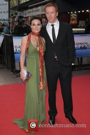 Helen McCrory and Damien Lewis UK film premiere of 'Flashbacks Of A Fool' held at Empire Leicester Square - Arrivals...