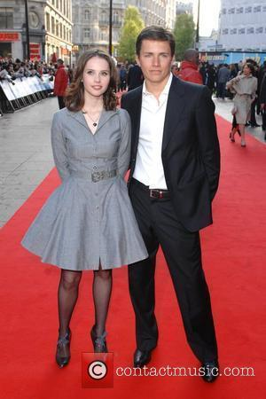 Felicity Jones and Harry Eden  Flashback of a Fool World Premiere held at the Empire Leicester Square - Arrivals...