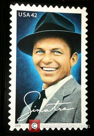 42-cent Frank Sinatra commemorative stamp 42-cent Frank Sinatra commemorative stamp dedication ceremony held at Gotham Hall New York City, USA...