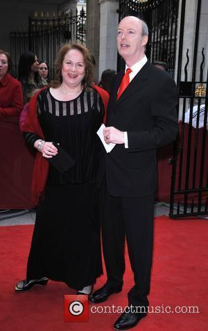 Pam Ferris and Roger Frost Galaxy British Book Awards held at the Grosvenor House - Arrivals London, England - 09.04.08