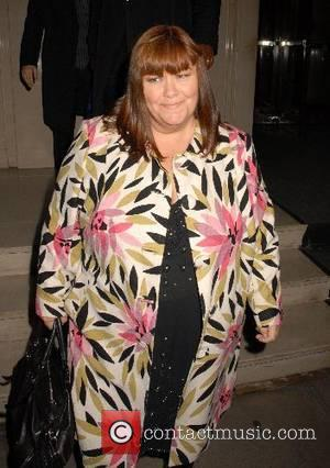 Dawn French,  leaving George Michael's 44th birthday party held at the Berkeley Hotel London, England - 25 .06.07