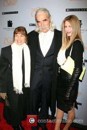 Katharine Ross, Sam Elliott and Cleo Rose Elliott at the New York premiere of 'The Golden Compass' at the Ziegfeld...