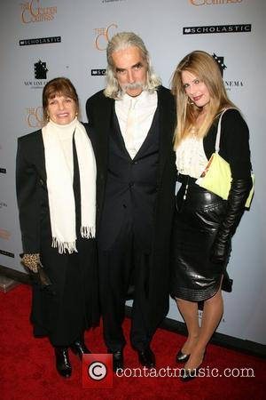 Katharine Ross, Sam Elliott and Cleo Rose Elliot at the New York premiere of 'The Golden Compass' at the Ziegfeld...