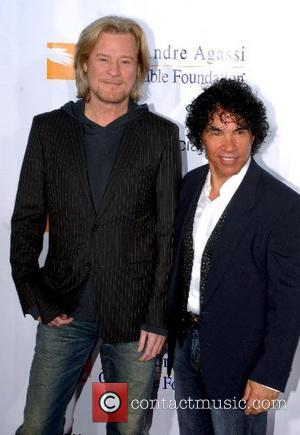 Daryl Hall and John Oates  Andre Agassi Grand Slam for Children benefit  at the MGM Grand Las Vegas,...