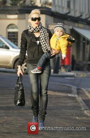 Gwen Stefani Leaves her house with her son Kingston on a sunny winters afternoon and heads to the shops for...